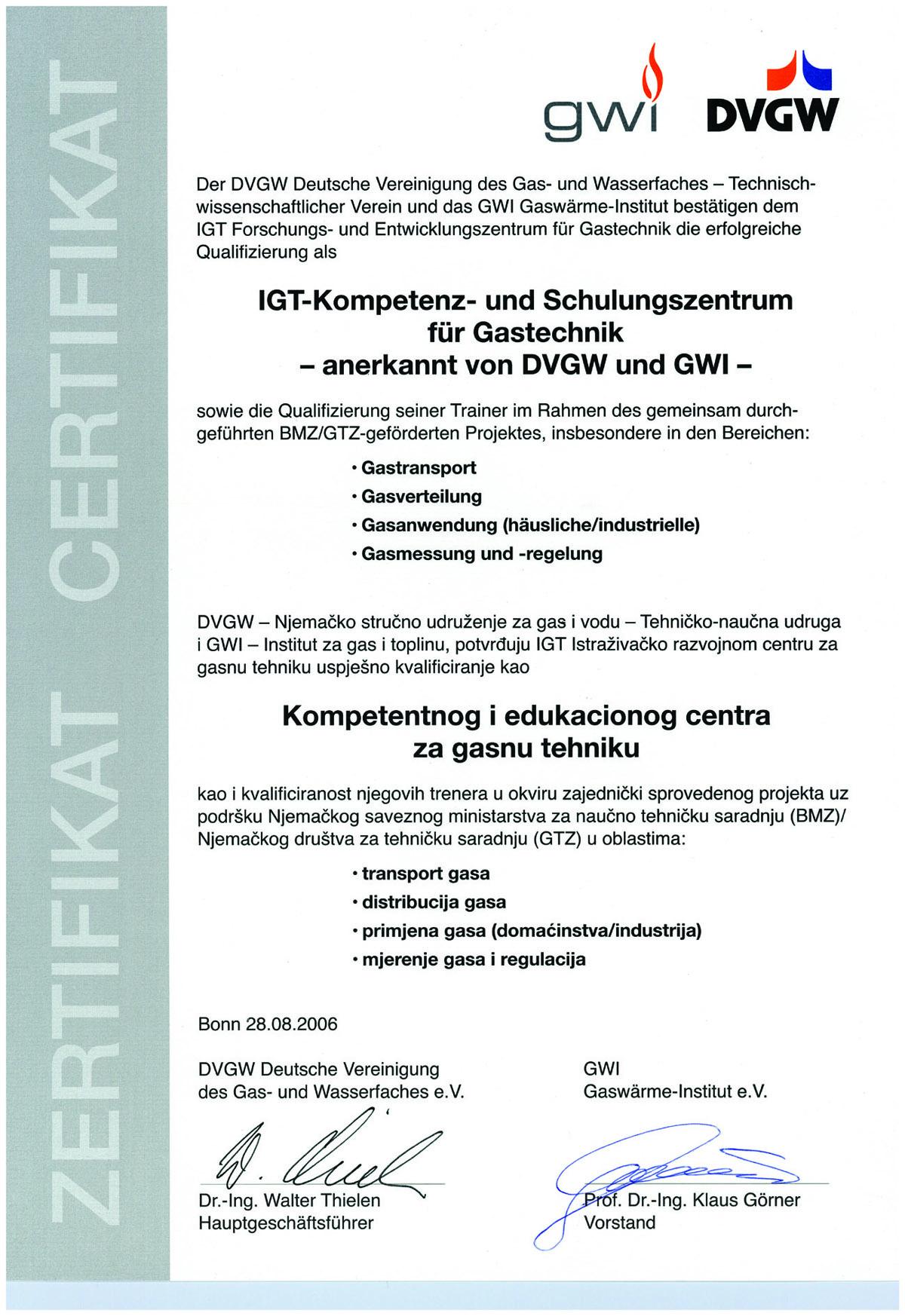 edukacioni centar certifikat